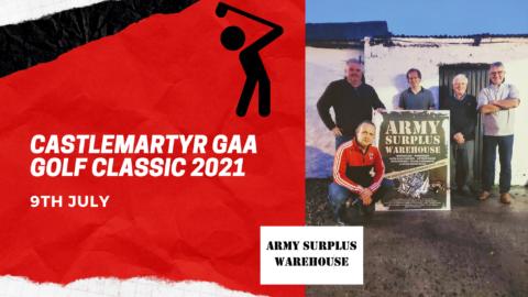 Castlemartyr GAA Annual Golf Classic 2021